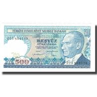 Billet, Turquie, 500 Lira, 1970, 1970-10-14, KM:195, SPL+ - Turquie