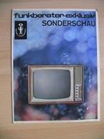 Funkberater-exklusiv SONDERSCHAU(sales Catalogue):TELEVISION,RADIO,gramophone - Publicités