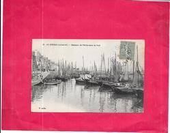 LE CROISIC - 44 -  Bateaux De Peche Dans Le Port    - DELC7 - - Le Croisic