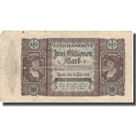 Billet, Allemagne, 2 Millionen Mark, 1923, 1923-07-23, KM:89a, TTB - [ 3] 1918-1933 : República De Weimar