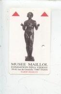 Ticket : Musée Maillol Fondation Dina Vierny - Tickets D'entrée