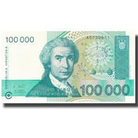 Billet, Croatie, 100,000 Dinara, 1993, 1993, KM:27A, NEUF - Croatia