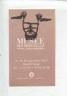 Ticket : Musée Des Merveilles - Tende 2001 - Tickets - Vouchers