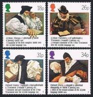 Great Britain 1205-1208,MNH.Michel 1139-1142. Welsh Bible,400th Ann.1988. - 1952-.... (Elizabeth II)