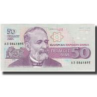 Billet, Bulgarie, 50 Leva, 1992, 1992, KM:101a, SPL - Bulgarie