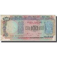 Billet, Inde, 100 Rupees, KM:86d, TB - Inde