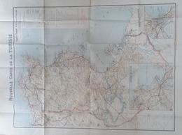 Carte Taride De La Tunisie - Cartes Géographiques