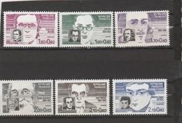 FRANCE 1983  N° 2328/2332** PERSONNAGES CELEBRES - Neufs