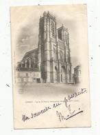 Cp, 80 ,  CORBIE ,  église SAINT PIERRE ,  Dos Simple , Voyagée - Corbie