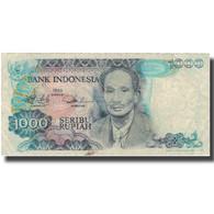Billet, Indonésie, 1000 Rupiah, 1980, 1980, KM:119, TB - Indonésie