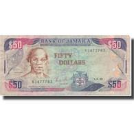 Billet, Jamaica, 50 Dollars, 1988, 1988-08-01, KM:73a, TTB - Jamaique