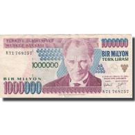 Billet, Turquie, 1,000,000 Lira, 1970, 1970-10-14, KM:213, TB - Turquie
