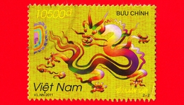 VIETNAM - Viet Nam - Usato - 2011 - Drago - New Year Of Dragon - 10500 D - Vietnam