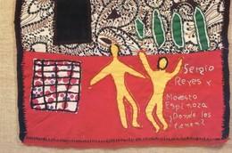 Chili Déchiré - 2000 Prisonniers Politiques - Tapis Brodés Par Les Familles De Prisonniers - Sergio Reyes - Evènements