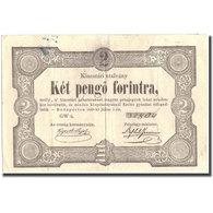 Billet, Hongrie, 2 Pengö Forint, 1849, 1849-07-01, KM:S126a, TTB - Hongrie