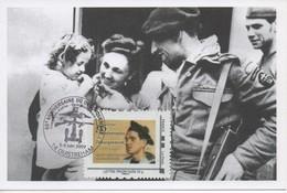 Carte 65ème Anniversaire Du Débarquement - 5 Et 6 Juin 2009 - 14 Ouistréham - Cartes-Maximum