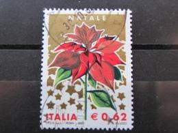 *ITALIA* USATI 2003 - NATALE - SASSONE 2717 - LUSSO/FIOR DI STAMPA - 6. 1946-.. Repubblica