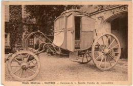 61km 722 CPA - MUSEE MESTREAU SAINTES - CARROSSE DE LA FAMILLE PANDIN DE LUSSARDIERE - Saintes