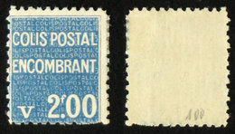 COLIS POSTAUX N° 100 Neuf N* TB Cote 50€ - Parcel Post