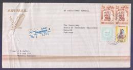 BAHRAIN Postal History Cover, Registered Used 19.10.1998 From MANAMA 4, - Bahreïn (1965-...)