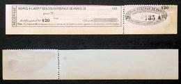 COLIS POSTAUX PARIS N° 123 Neuf NSG Cote 85€ - Colis Postaux