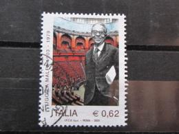 *ITALIA* USATI 2003 - UGO LA MALFA - SASSONE 2713 - LUSSO/FIOR DI STAMPA - 6. 1946-.. Repubblica
