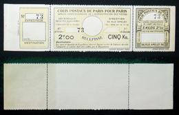 COLIS POSTAUX PARIS N° 140 Neuf N** TB Cote 60€ - Colis Postaux