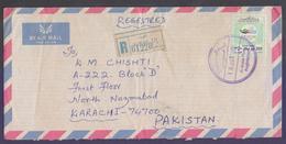 KUWAIT Postal History Cover, Registered Used 10.10.1994 From KUWAIT 131 - Koweït