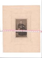 Abbé Johann Lecomte Eupen 1785 1863 Curé à Walhorn Grand Souvenir Pieux Avec Lithographie Du Défunt RARE - Décès