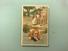 BON POINT — Farine Lactée SALVY — Écrivain : Samuel RICHARDSON - Trade Cards