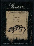 Rare // Etiquette De Vin // Fête Des Vignerons Vevey 1999 //  Yvorne, Salamandre - Etiquettes