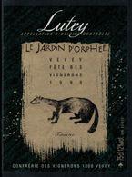 Rare // Etiquette De Vin // Fête Des Vignerons Vevey 1999 //  Lutry, La Fouine - Etiquettes