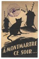 Le Chat Noir Montmartre Aristide BRUANT - Les Youpins - Tampon PPF Parti Populaire Français - Antisémitisme - Old Paper
