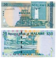 2004 // RESERVE BANK OF MALAWI // Commemorative Bill // 50 Kwacha // AU - Malawi