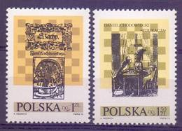 Poland 1974 Mi 2322-2323 MNH ( ZE4 PLD2322-2323 ) - Pologne