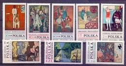 Poland 1970 Mi 2032-2039 MNH ( ZE4 PLD2032-2039 ) - Polen