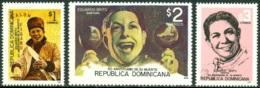 DOMINICAN REPUBLIC 1996 SINGER EDUARDO BRITO DEATH ANNIVERSARY** (MNH) - Dominicaine (République)