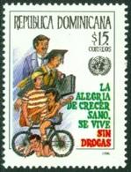 DOMINICAN REPUBLIC 1996 DAY AGAINST ILLEGAL DRUGS** (MNH) - Dominicaine (République)