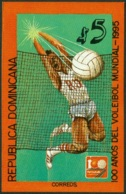 DOMINICAN REPUBLIC 1995 VOLLEYBALL CENTENARY S/S** (MNH) - Dominicaine (République)