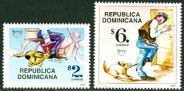 DOMINICAN REPUBLIC 1997 AMERICA-UPAEP, THE MAIL CARRIER** (MNH) - Dominicaine (République)