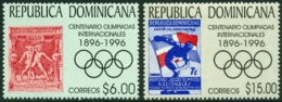 DOMINICAN REPUBLIC 1996 MODERN OLYMPICS CENTENARY** (MNH) - Dominicaine (République)