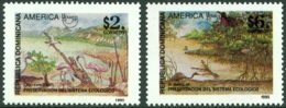 DOMINICAN REPUBLIC 1995 AMERICA-UPAEP, ENVIRONMENT PROTECTION** (MNH) - Dominicaine (République)