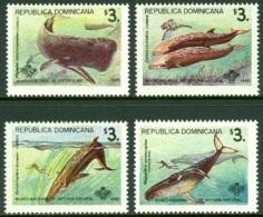 DOMINICAN REPUBLIC 1995 WHALES** (MNH) - Dominicaine (République)