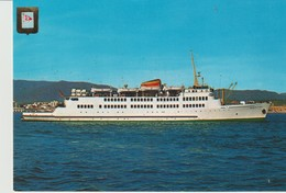 CP - PHOTO - COMPANIA TRASMEDITERRANEA - BUQUES CAR FERRY - VICTORIA - VIRGEN DE AFRICA - 6322 - CEDOSA - - Ferries