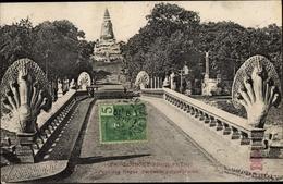 Cp Kambodscha, Pnom Pnenh, Pont Des Nagas, Serpents Polycephales - China