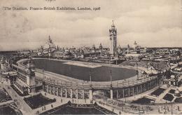 Thematiques Great Britain London Londres Franco British Exhibition 1908 The Stadium Timbre Cachet - Londres