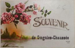 Gougnies-Chaussée Souvenir Carte Fantaisie - Quévy