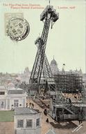 Thematiques Great Britain London Londres Franco British Exhibition 1908 The Flip Flap From Stadium Timbre Cachet - Non Classés