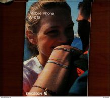 ERICSSON MOBILE PHONE A1018 MANUALE - Telefonia