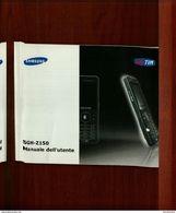 SAMSUNG SGH-Z150 MANUALE DELL'UTENTE - Telefonia